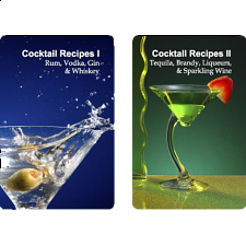 Playing Cards - Cocktail Recipes -