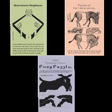 Sam Loyd Advertising Cards - 3 Card Special -