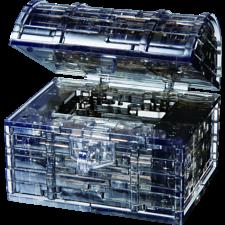 3D  Crystal Puzzle - Treasure Chest (Black) -
