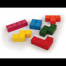 Puzzle Blocks Crayons -