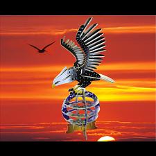 Eagle - Illuminated 3D Wooden Puzzle -