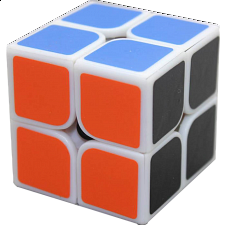 2x2x2 I - White Body for Speed Cubing (50x50mm) -