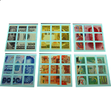 3x3x3 Money Note Stickers Set -