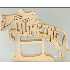 Horse Jumping - Wooden Puzzle -