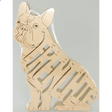 Frenchie Dog - Wooden Puzzle -