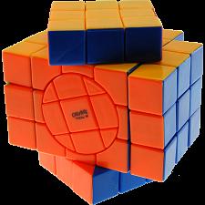 3x3x5 Super Temple-Cube with Evgeniy logo - Stickerless -