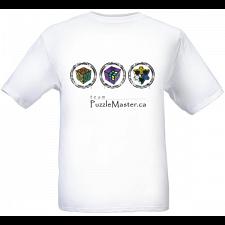 Team Puzzle Master - White - T-Shirt -