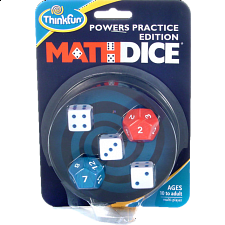 Math Dice: Powers Practice Edition -