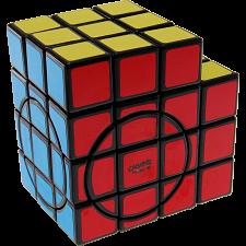 3x3x5 Super L-Cube with Evgeniy logo - Black Body -