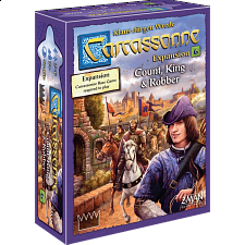Carcassonne: Count, King & Robber -