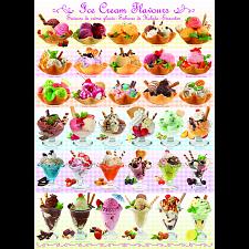Ice Cream Flavours -