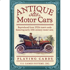 Playing Cards - Antique Motor Cars -