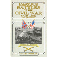 Famous Battles of the Civil War - Card Game Deck -