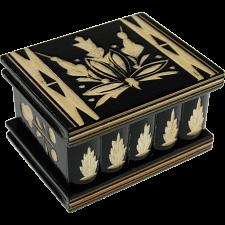 Romanian Puzzle Box - Medium Black -