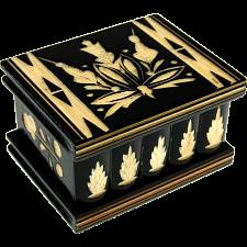 Romanian Puzzle Box - Small Black -