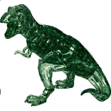 3D Crystal Puzzle Deluxe - T-Rex (Green) -