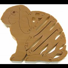 Bunny Rabbit - Wooden Puzzle -