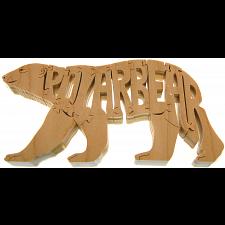Polar Bear - Wooden Puzzle -