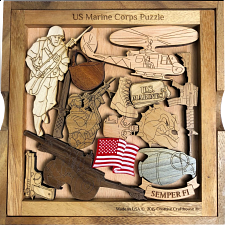 Marine Corps Challenge Puzzle -