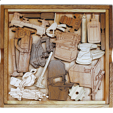 Woodworker's Challenge Puzzle -