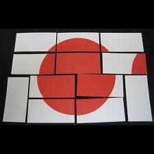 Hinomaru: Japanese Flag Puzzle (Card-stock Edition) -
