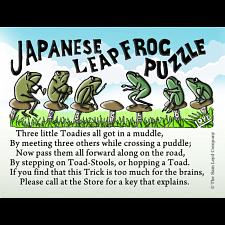 Japanese Leapfrog Puzzle -