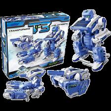 T3 Solar 3-in-1 Transforming Robots -