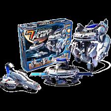 7-in-1 Solar Rechargeable Space Fleet -