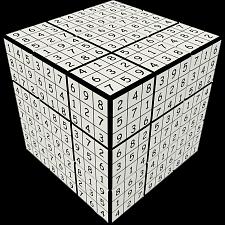 V-CUBE 3 Flat (3x3x3): V-udoku Cube -