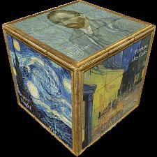 V-CUBE 3 Flat (3x3x3): Van Gogh -
