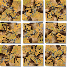 Scramble Squares - Elk -