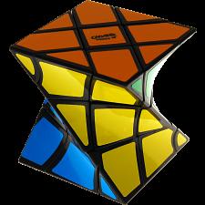 Eitan's FisherTwist Cube - Black Body -