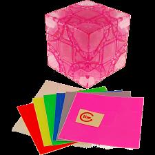 limCube Dreidel 3x3x3 DIY - Ice Pink Body (Limited Edition) -