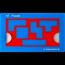 Antislide-Tetramino Puzzle -
