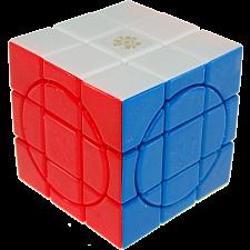 Crazy 3x3 Plus - Stickerless - 4 Circle Faces -