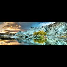 AVH Panorama: Blue Lake -