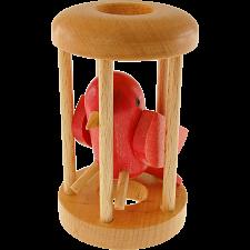 Redbird in a Cage -