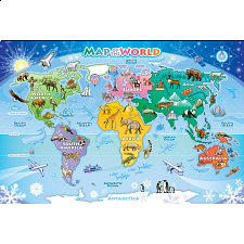 Floor Puzzle: Map of the World -