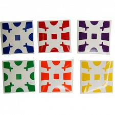 Gear Cube Sticker Set -