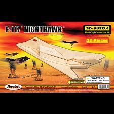 F-117 Nighthawk - 3D Wooden Puzzle -