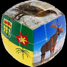 V-CUBE 3 Pillow (3x3x3): Saskatchewan -
