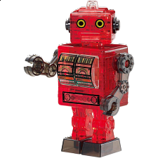 3D Crystal Puzzle - Tin Robot -