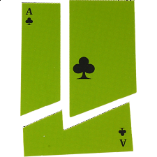 Card with a Disappearing Hole - Version 2 -