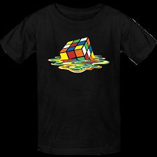 Melted Rubik's Cube - T-Shirt -