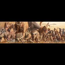 Dinosaurs: Panoramic Puzzle -