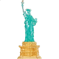 3D Crystal Puzzle Deluxe - Statue of Liberty -