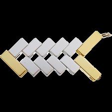 Mini Line Cube - Gold -