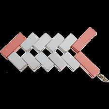 Mini Line Cube - Rose Gold -