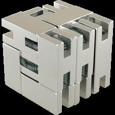 Line Cube - Silver -