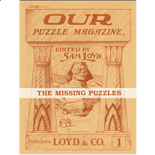 The Missing Puzzles - Volume 1 (Book) -
